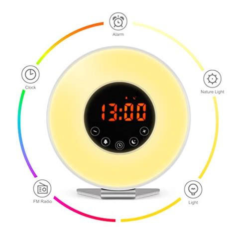 alarm clock light up light alarm clock digital clock freebiefresh