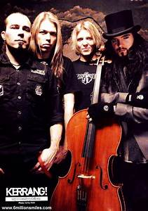Apocalyptica! The great Finnish cello-metal band! | Music ...