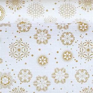 Nappe Papier Noel : nappe noel rouleau cristaux or 1 20x25m ~ Teatrodelosmanantiales.com Idées de Décoration