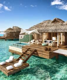 these overwater hotel suites are all inclusive weekend getaways weekend