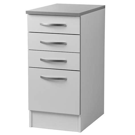 but meuble de cuisine bas meuble bas de cuisine 4 tiroirs blanc viva lestendances fr
