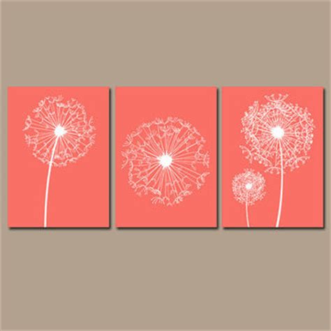 coral colored decorative accents best coral wall decor products on wanelo