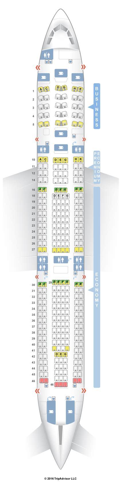 airbus a340 300 stoelindeling seatguru seat map lufthansa airbus a340 300 343 v1