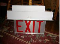 LightingGallerynet Seber's Exit Sign Collection1989