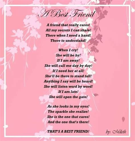 best 25 best friend poems ideas on and