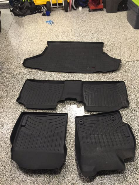 weathertech floor mats for sale near me for sale weathertech digital fit front rear and cargo mat priuschat