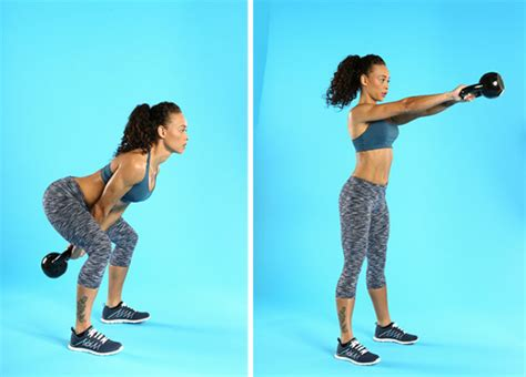 kettlebell swing low exercises impact knee