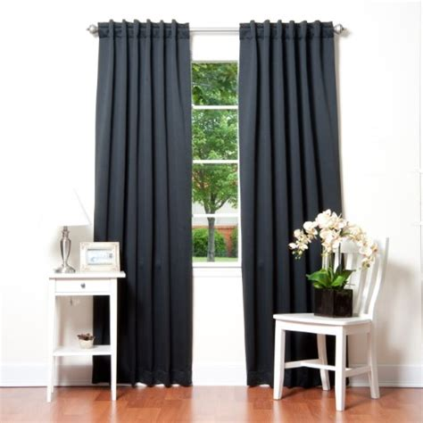 bed bath and beyond blackout curtains solid thermal insulated blackout curtain 84 l 1 set
