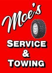 moes service center towing oil  tires auto