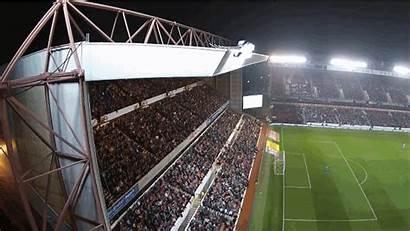 Drone Football Stadium Looks Eyes Ground Sky