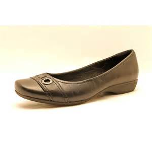 clarks womens boots size 11 clarks propose spire womens size 11 black wide leather flats shoes used ebay