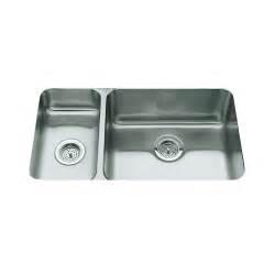 kohler undertone kitchen sink kohler undertone undercounter stainless steel 31 5 in 0 6707