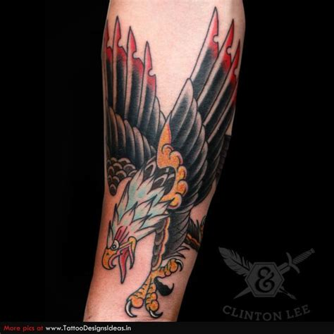 25+ Best Ideas About Traditional Eagle Tattoo On Pinterest