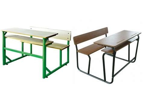 attached school desks and chair modern school desk and
