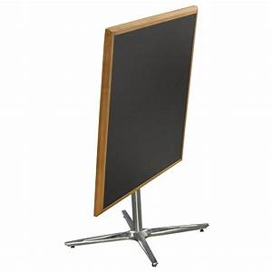 Falcon 1900 Series Used 36 Inch Square Folding Cafe Table ...