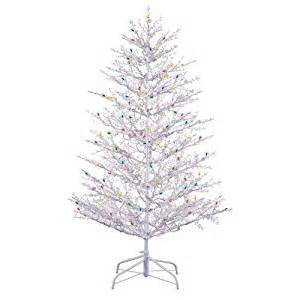 amazon com ge 5 ft indoor outdoor winterberry pre lit artificial christmas tree with