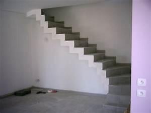 Carreler Des Marches D Escalier Exterieur : cremailli re escalier siporex sans toucher le sol forum ma onnerie fa ades syst me d ~ Melissatoandfro.com Idées de Décoration