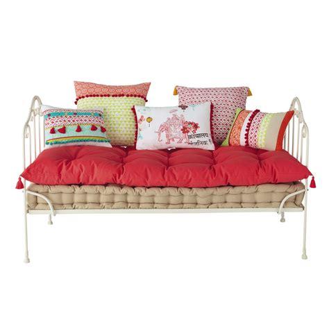 le bon coin chambre matelas 5 coussin en coton pinkplanet maisons du monde