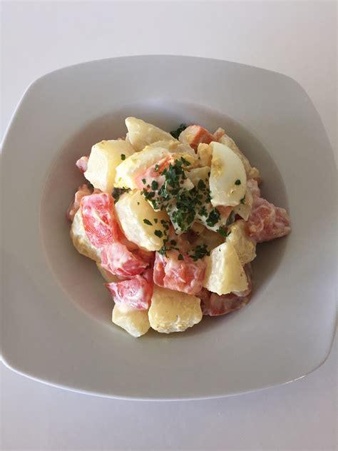 cuisine legere salade piémontaise légère cuisine