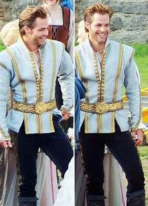 : Chris Pine on the set of Into the Woods.... - Beautiful ...