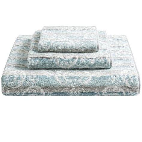 Modern Bathroom Rugs And Towels by Kassadecor Damask Stripe Cotton Bath Towel Runner Rugs