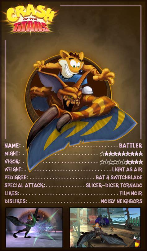 Crash of the Titans - Artwork - Trading Cards | Crash Mania