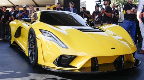 300 Kilometers Is How Many Mph by Hennessey S 1 600 Hp Venom F5 Is Gunning For 300 Mph