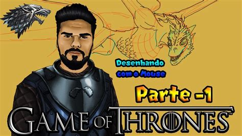 Speed Drawing Game of Thrones Parte 1 YouTube