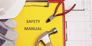Safety Manuals  The Backbone Of Company Safety
