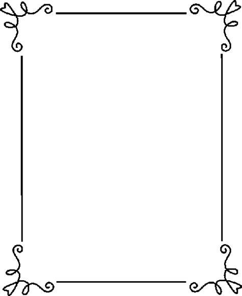 elegant page borders