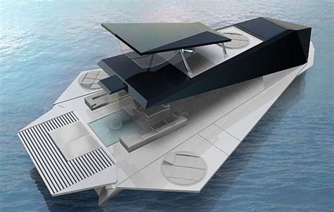 Catamaran Boat Origami by Origami Yacht