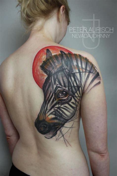 abstract animal tattoos