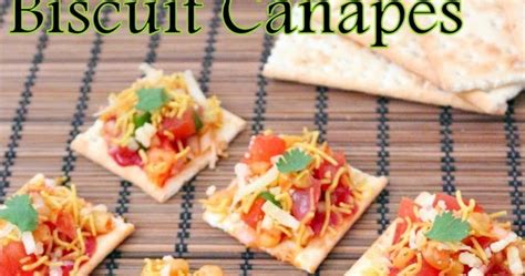 canape biscuit recipe of biscuit canapes how to biscuit canapes