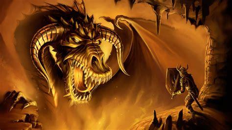 Wallpaper Dragon Warrior