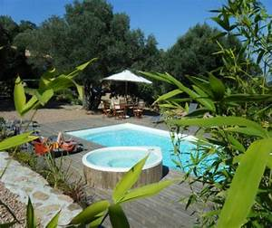 les jardins de mathieu bergeries en pierre a porto With location chambre d hote corse du sud
