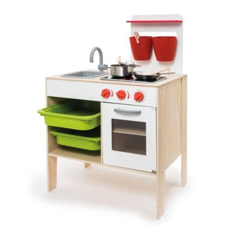 oxybul cuisine en bois grande cuisinière en bois avec accessoires imagibul