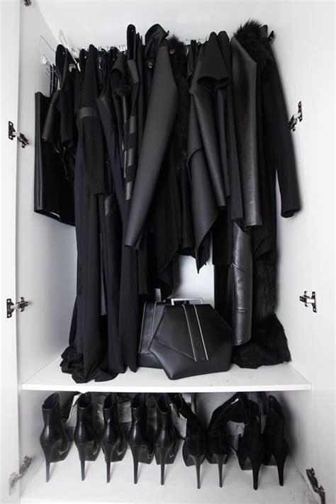 Black Clothes Wardrobe by Les Petits Secrets Du Tout Noir Le Cahier