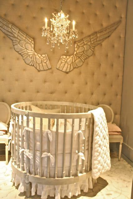 cribs ideas  pinterest circular crib cribs toddler beds  baby room