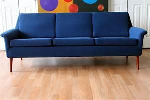 Folke, Ohlsson, Dux, Mid-century, Modern, Three, Seat, Sofa