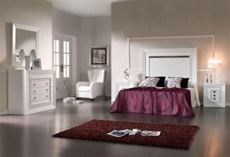 chambre pourpre chambre à coucher complète 45 designs modernes