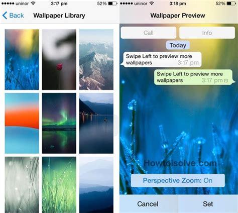 change whatsapp chat background wallpaper  iphone