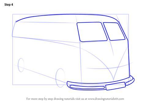 learn   draw volkswagen van  step  step