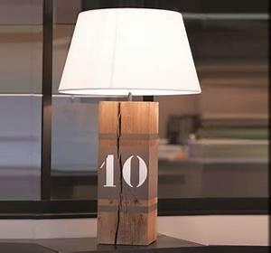 Lampe De Chevet Bois : lampe en ch ne upline xl luminaire design ~ Teatrodelosmanantiales.com Idées de Décoration