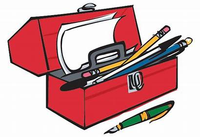 Writers Toolbox Toolkit Clipart Writer Writing Cliparts