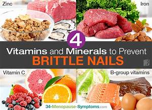 4 Vitamins And Minerals To Prevent Brittle Nails