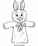 Marionetki Mewarna Paskah Coloringhome sketch template