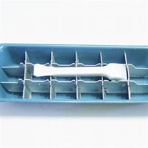 Vintage Aluminum Manual Ice Cube Tray In By