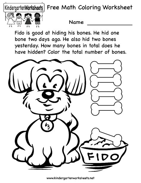Coloring Kindergarten Math by Kindergarten Math Coloring Pages Coloring Home