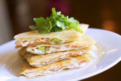 Although smoked irish salmon is traditional, any smoked salmon will work in this dish. Smoked Salmon Quesadilla | Tasty Kitchen: A Happy Recipe ...