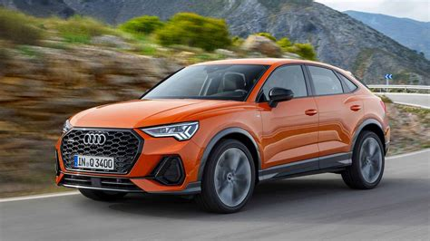 sportback   sloping roofline compact crossover  audi
